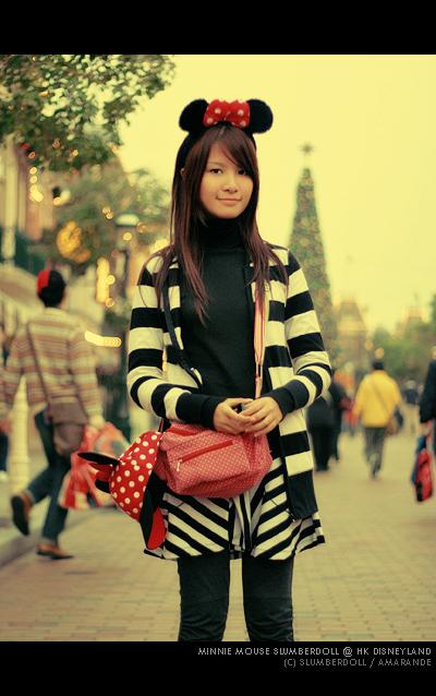 Tricia in HK Disneyland