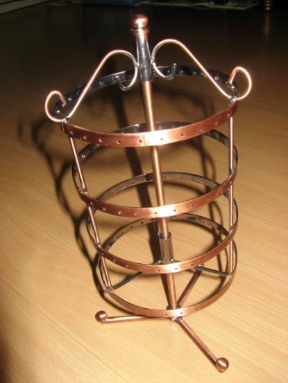 Carousel frame