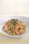 Spinach Pesto with Shrimp
